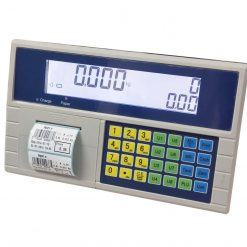 Timbangan HCT pricing computing indicator with label printer