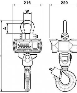 timbangan tmt TCS Series (FND,LCD) 03