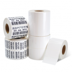 Kertas Thermal Sintetis Label Stiker 1 Roll