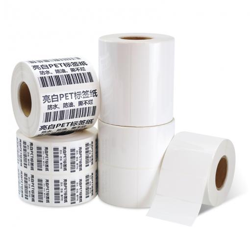 Kertas Thermal Sintetis Label Stiker 1 Roll