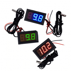 12V LCD Digital Thermometer Monitor Tester