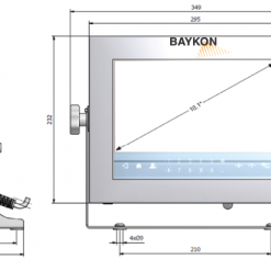 baykon BX63 Weighing Terminal 3