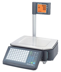 Mettler bCom barcode printing scale