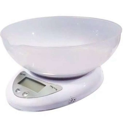 timbangan crown 5 kg putih 3